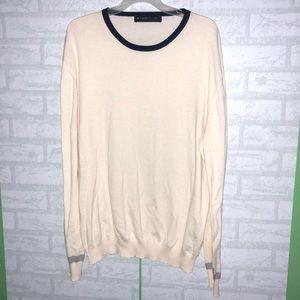 Men's Etro cotton cashmere sweater sz 2XL C3